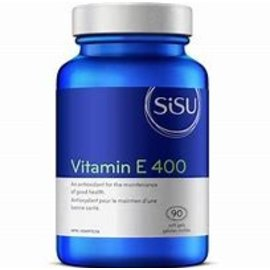 Sisu Vitamin E 400 90 soft gels