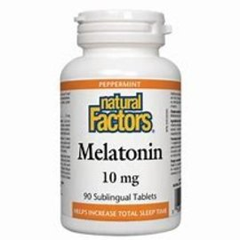 Natural Factors Stress-Relax Melatonin 10 mg Chewable 60/TAB