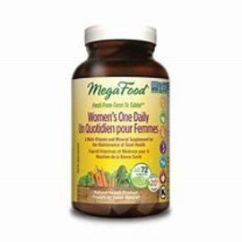 Mega Food Women's One Daily 72 tabs