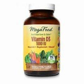 Mega Food Vitamin D3 1000IU 90tabs