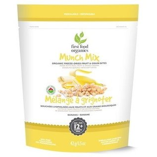first food organics Munch Mix Banana 12+months 42g