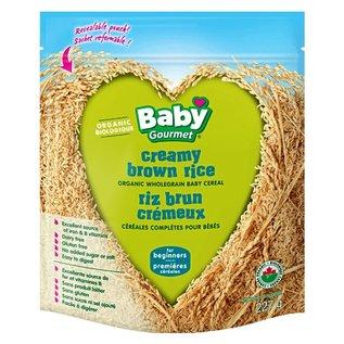 Organic Baby Gourmet Organic Creamy brown rice for beginners 227g