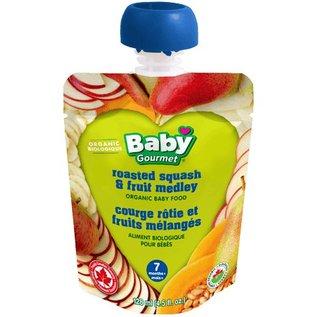 Organic Baby Gourmet roasted squash & fruit medley 7+months 128ml