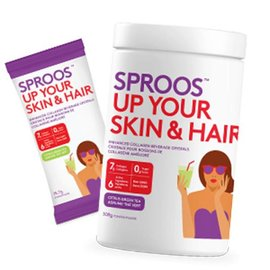 Sproos Sproos Up Your Skin and Hair citrus green tea 283g powder