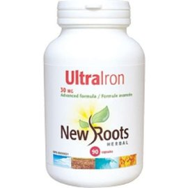 New Roots Ultra Iron 90vcaps