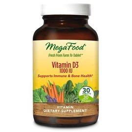 Mega Food Vitamin D3 1000IU 72tabs