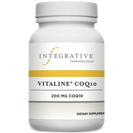 Integrative Therapeutics Vitaline CoQ10 100mg w vitamin  E Orange Creme Flavour 30chewable tabs