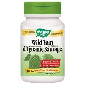 Nature's Way Wild Yam 425mg 100 caps