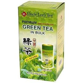 Uncle Lee's Tea Premium Bulk Green Tea Jasmine 120g