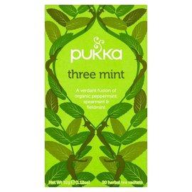 Pukka Teas Three Mint Tea 20 bags
