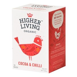 Higher Living Cocoa & Chili 15 bags