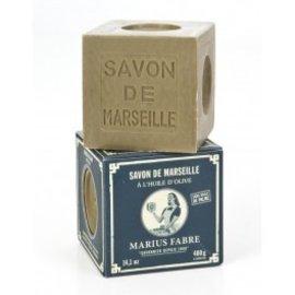 Marius Fabre Marseille Soap -Natural vegetable base 400g cube