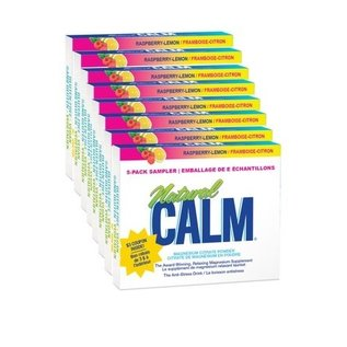 Natural Calm Natural Calm Magnesium Sample Pack 5 flavours