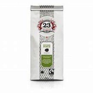23 Degrees Coffee Mugshot, Medium/Dark whole bean