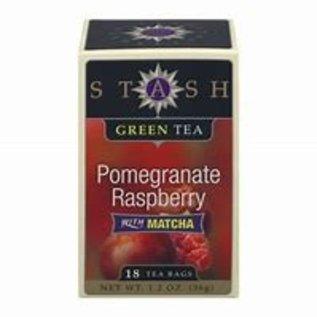 STASH Pomeganate Raspberry GreenTea w/Matcha 18bg