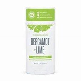 Schmidt's Schmidt's Bergamot lime deodorant 92g