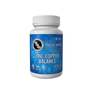 AOR Zinc-Copper Balance 17mg 100vcaps