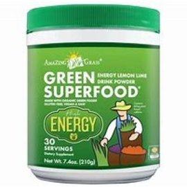 Amazing Grass Lemon Lime Energy Green SuperFood 210g