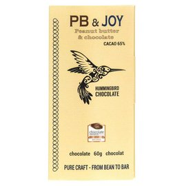 Hummingbird Chocolate PB & Joy Chocolate Bar