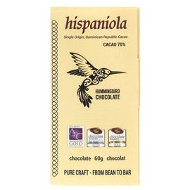 Hummingbird Chocolate Hispaniola Chocolate Bar 60g