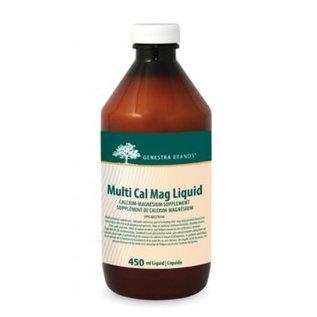 Genestra Cal Mag Liquid 450ml Mint flavor