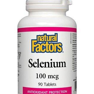 Natural Factors Selenium 100 mcg 90 tabs