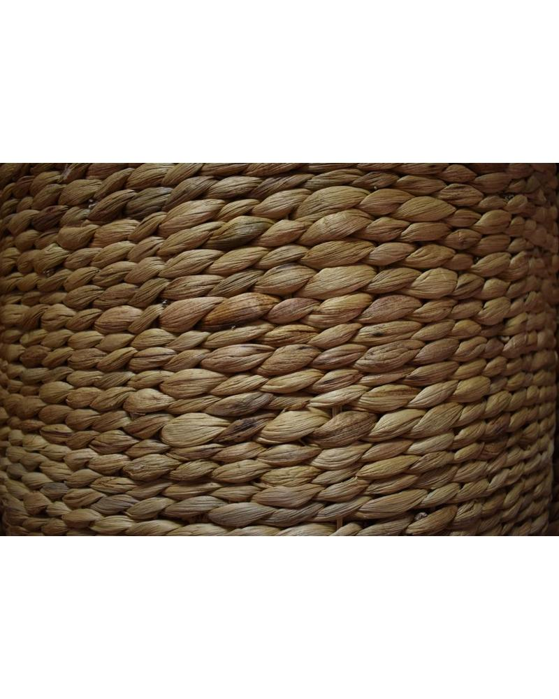 Tall Round Hyacinth Storage Basket (Large)