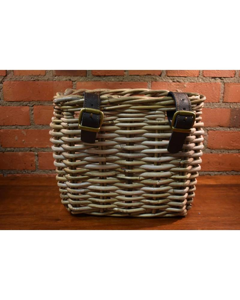 Rattan Bicycle Basket, Kooboo Grey