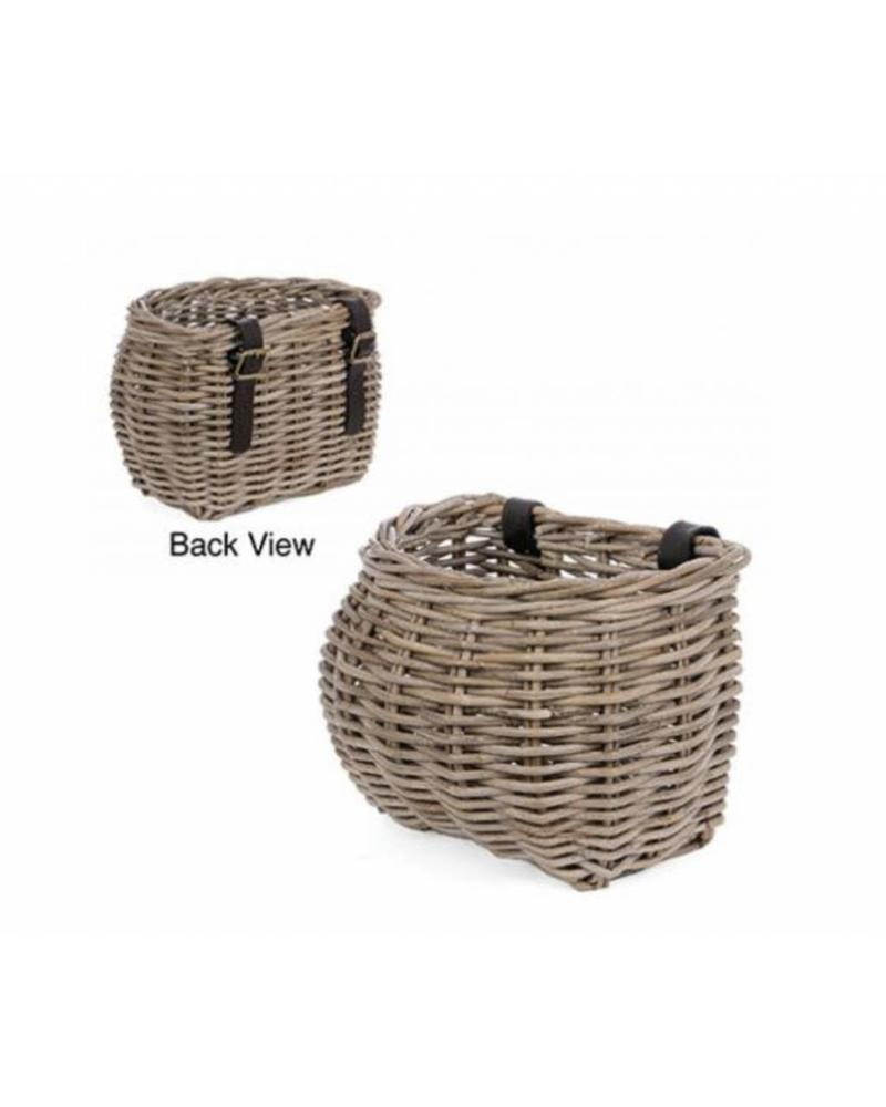 Rattan Bicycle Basket, Kooboo Grey