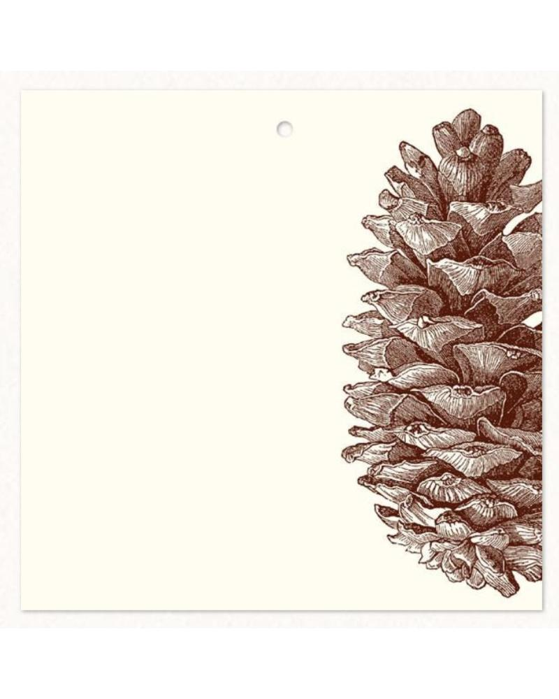 Pinecone Gift Tags (10 pack)