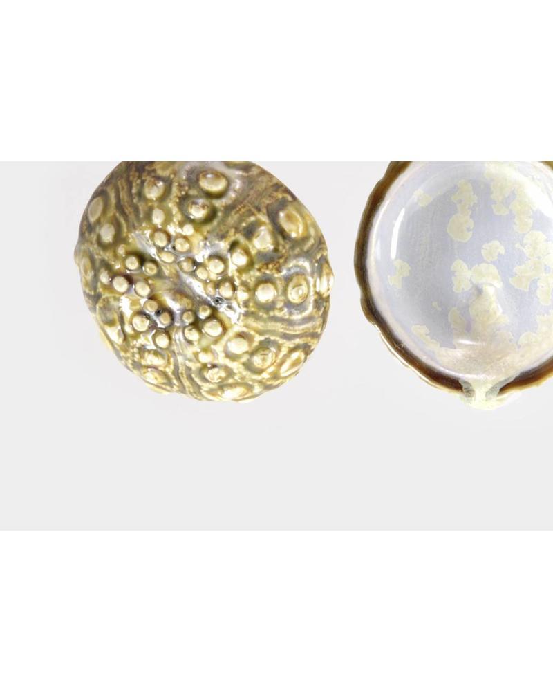 Sea Urchin Ornament - Abalone & Tortoise