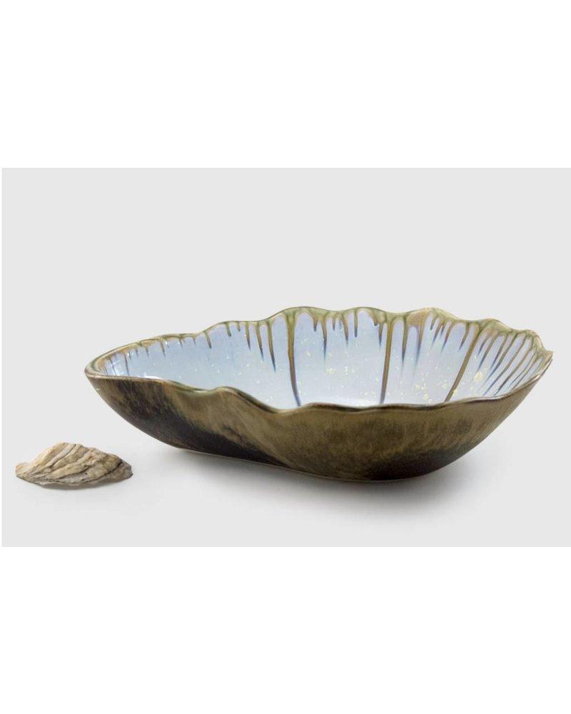 Large Nesting Bowl - Abalone & Tortoise