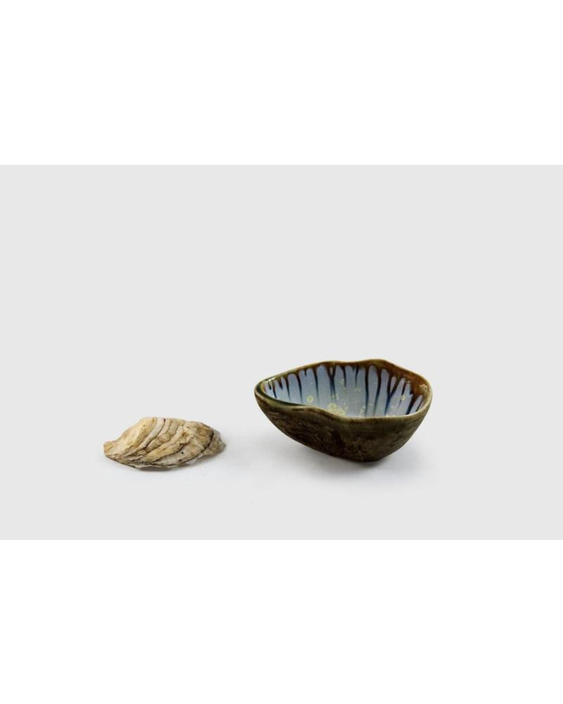 Soup/Footed Sauce Bowl: Abalone and Tortoise