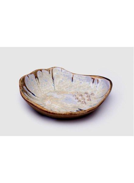 Garlic Grinding Bowl: Abalone & Tortoise