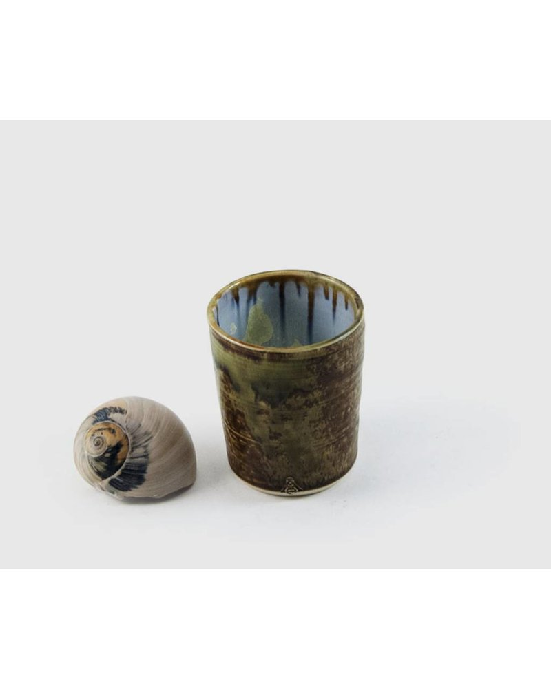 Juice cup: Abalone and Tortoise