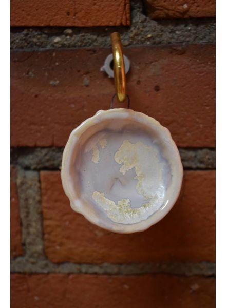 Sea Urchin Ornament - Pearl
