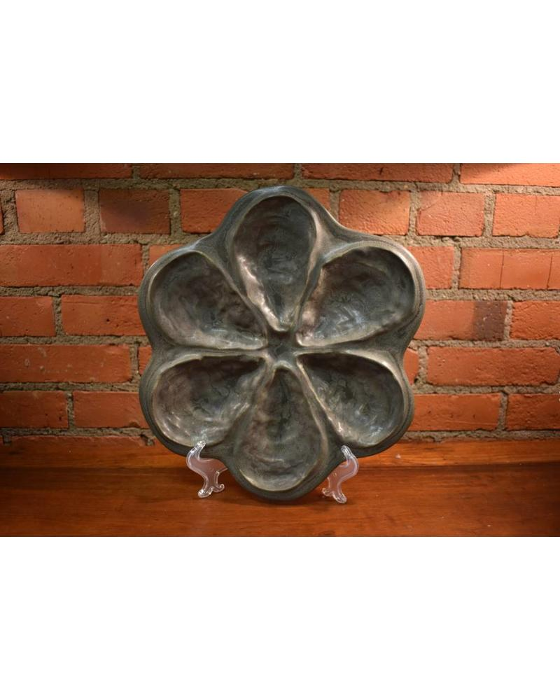 Traditional Oyster Platter for 6: Slate