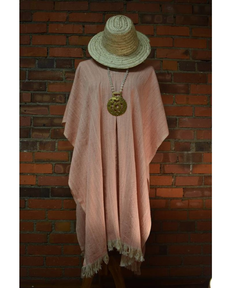 Tunic: Linen (Coral)
