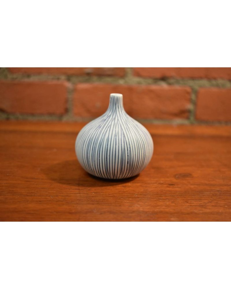 Congo Tiny Small Vase (Blue)