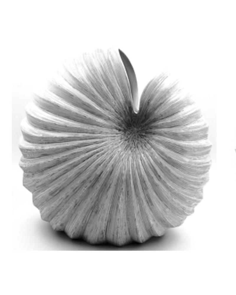 Palm Large Vase (Black and White)