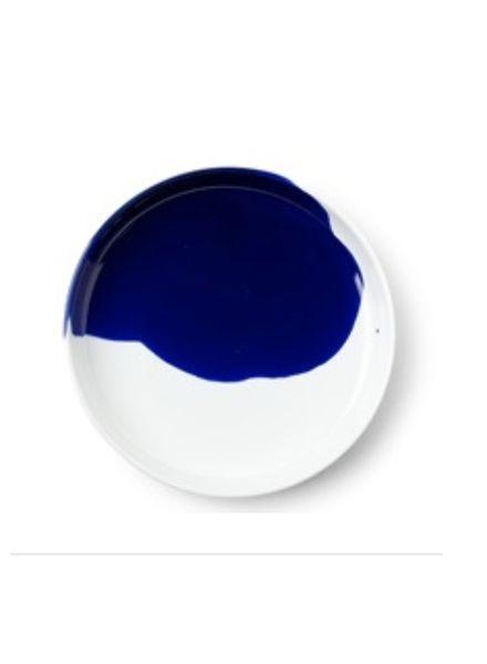 "miya BLUE SPLASH 6.25"" PLATE"