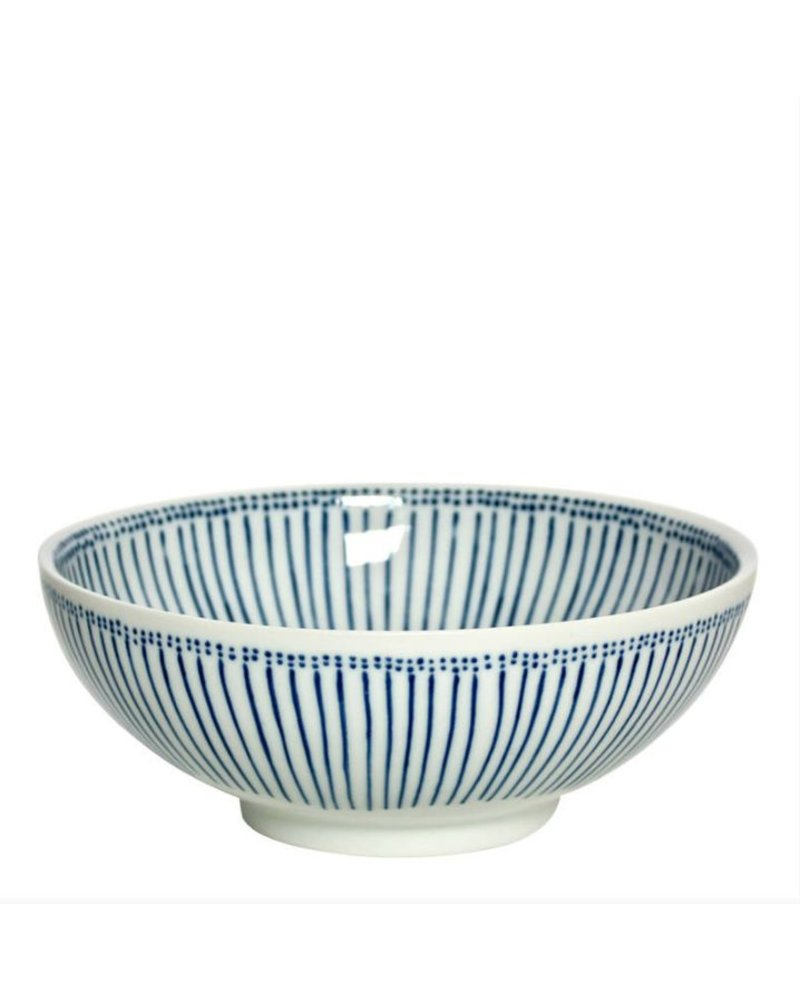 "miya BLUE STRIPES 8.25"" BOWL"