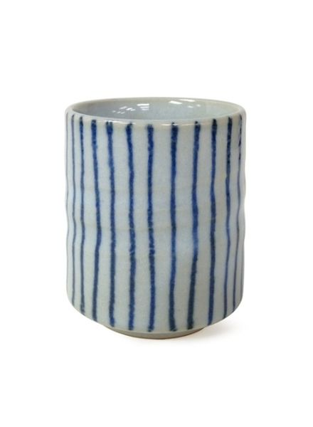 miya BLUE STRIPES TEACUP