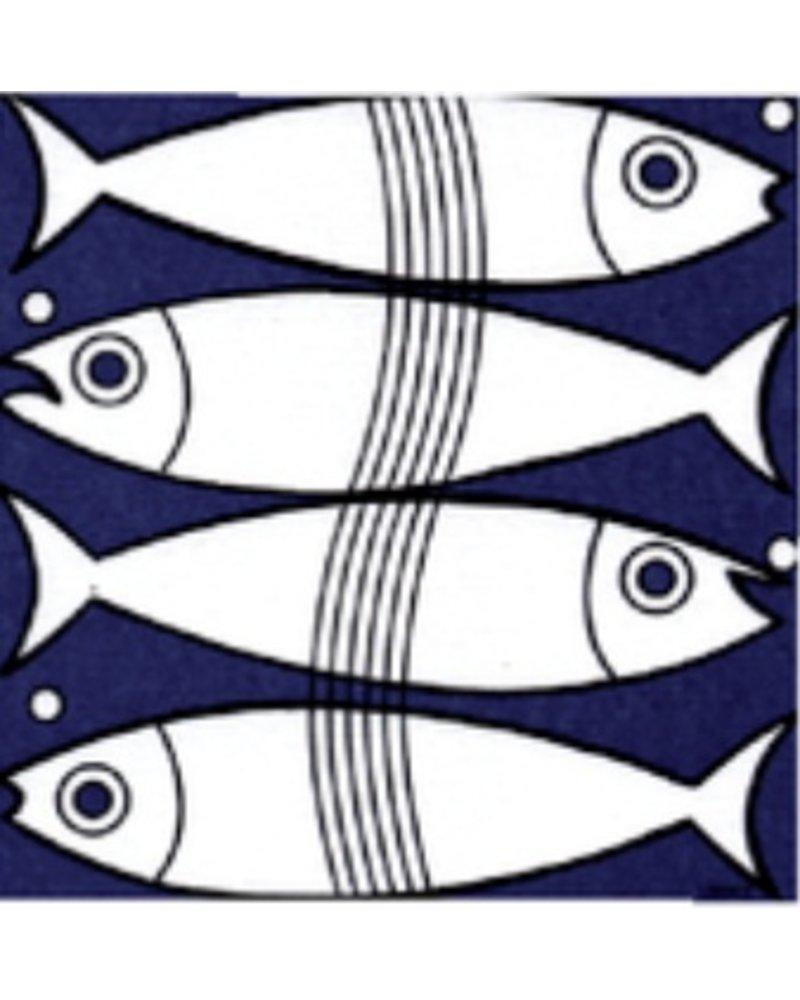 Fish Paper Napkin 25cm