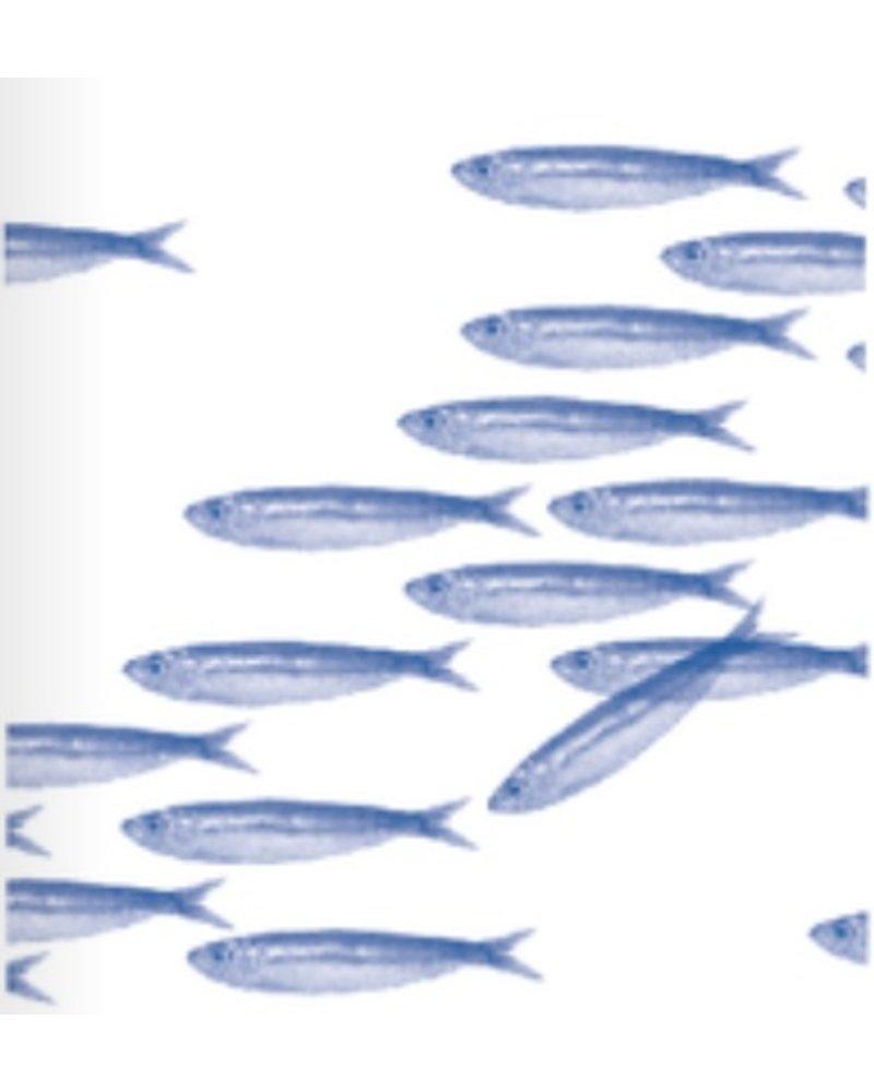 Sardines Paper Napkin 25cm