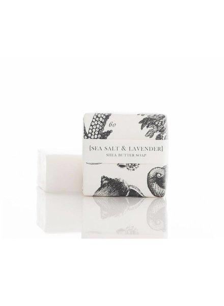 Sea Salt and Lavender Soap (2 oz)
