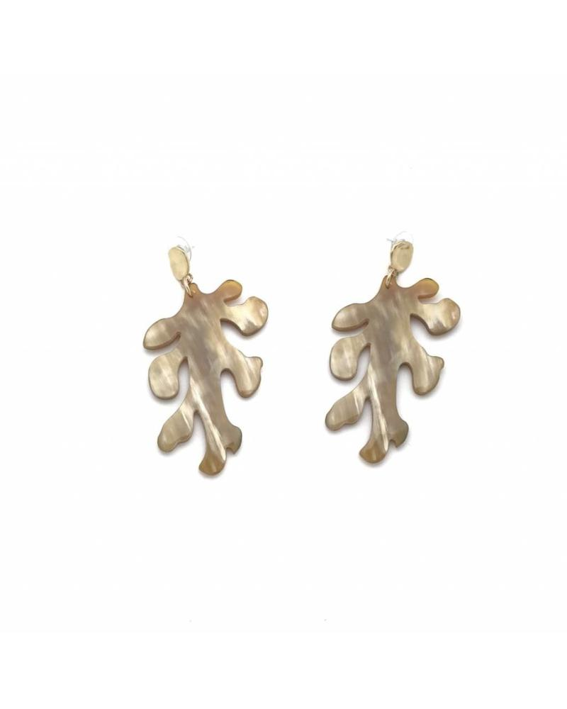 MdeM Designs Calypso Coral Earrings (Large)