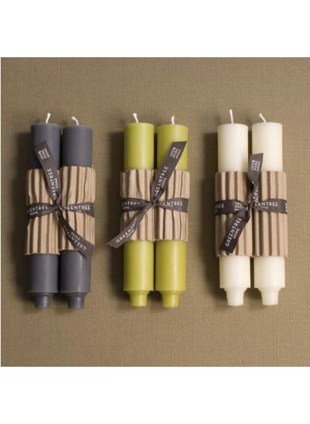 "9"" Column Candle, CREAM (Pair)"