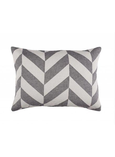 Fishbone Pillow Case (Black)