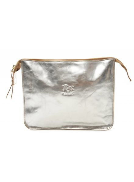 Calf Beauty Case (Silver)